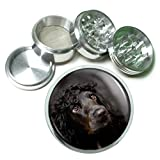 Dog Cocker Spaniel 04 4Pc Aluminum Grinder