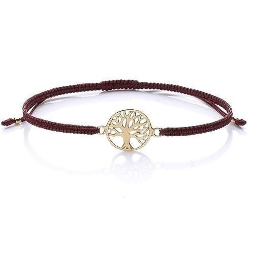 Tara Gioielli Mandala Argento Dorato Jewels Bracciale Lusso 925 Di rodxeCB