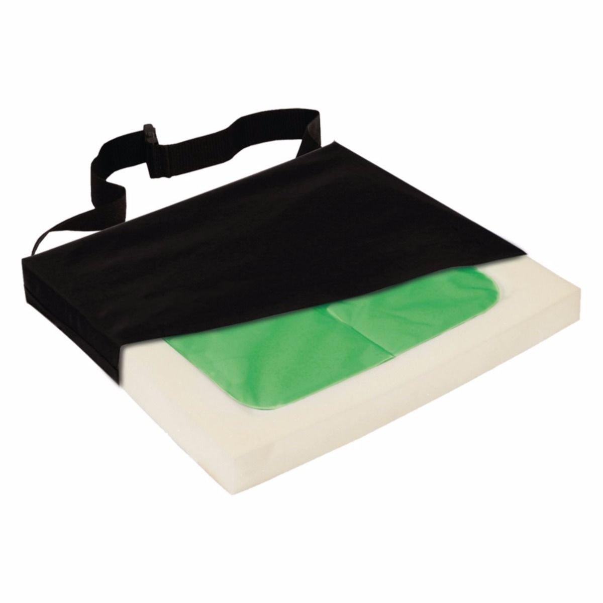 C-Gel Wheelchair Cushion, Gel Foam Cushion, 20'' x 18'' x 3''