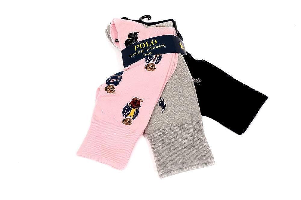 Ralph Lauren - Juego de 3 pares de calcetines para hombre, talla ...