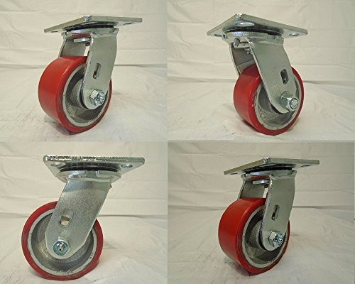 Swivel Caster Steel Wheel - 4
