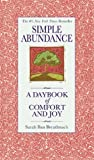 Product review for Simple Abundance: A Daybook of  Comfort and Joy