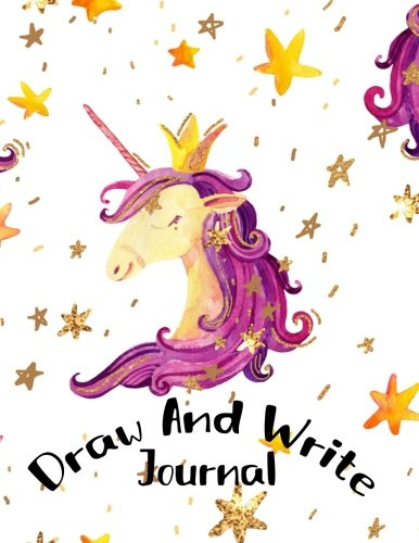 Draw And Write Journal: Primary Journal Notebooks Grades K-2 With Picture Space Half Lined (5/8