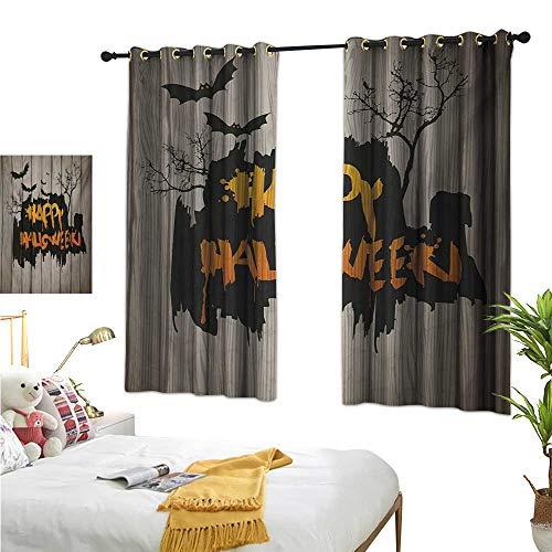 (Luckyee Customized Curtains,Halloween,63