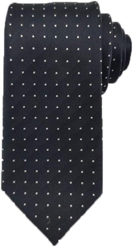 YXCM Corbatas de Seda para Hombres, Negocios, Rayas a Rayas ...
