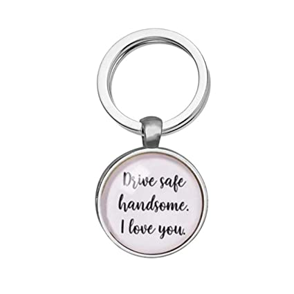 Amazon LALANG Car Key Chain Boyfriend Birthday GiftDrive Safe