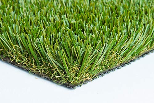 103 oz Thick Heavy Artificial Synthetic Grass Turf Dog Many Sizes (12' x 50' = 600 Sq Ft.) ()