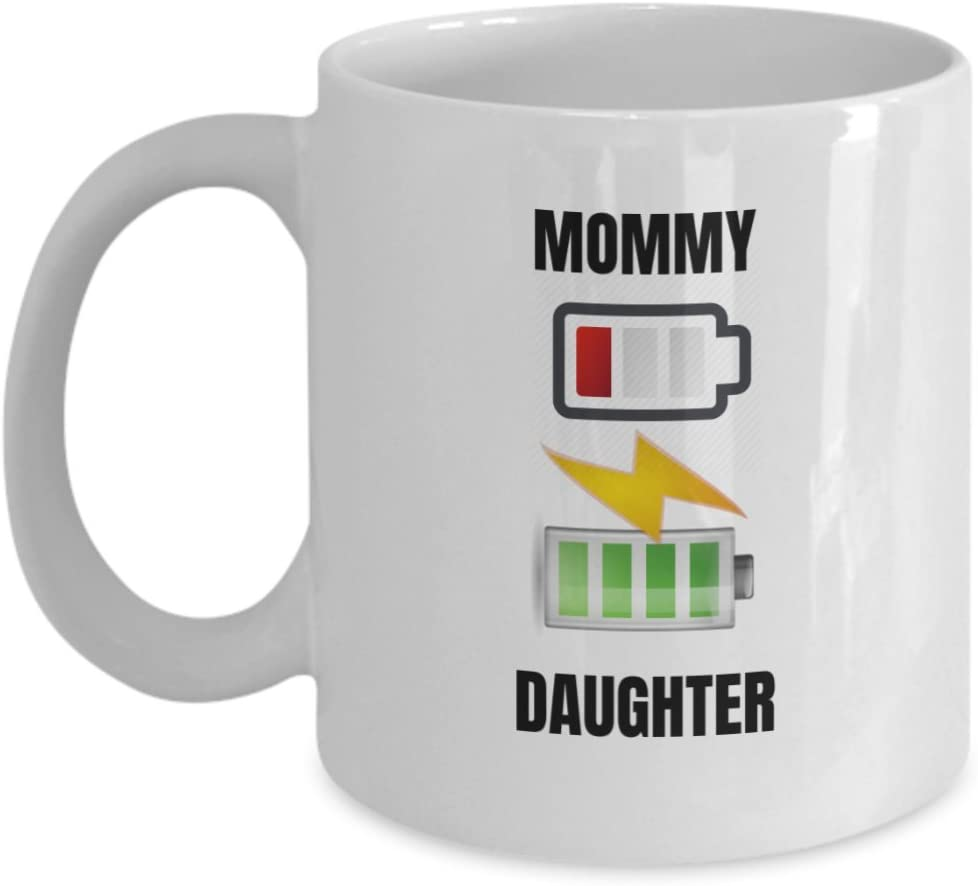 Amazon Com Funny Mom Gifts Mom Low Battery Off Mothers Day Gift From Daughter Birthday Gifts For Mom From Son Cute Coffee Mug For Mother Mommy Mama Mu Garden Outdoor
