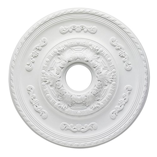 Westinghouse Lighting 7775700 Sofia Polyurethane Ceiling Medallion, 21-Inch Diameter Fitters Inch Ceiling Fan