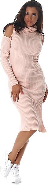 JELA London - Vestido - Noche - para mujer rosa rosa Talla única