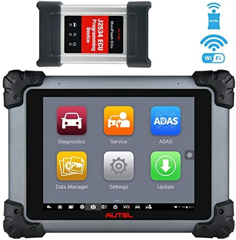 Autel MaxiSys MS908S Pro Diagnostic Scan Tool with J2534 ECU Programming, Proven Solution for US Market, Active Tests, 25 Special Functions, All Systems Diagnostics (Same as MaxiSys Elite, MK908P)