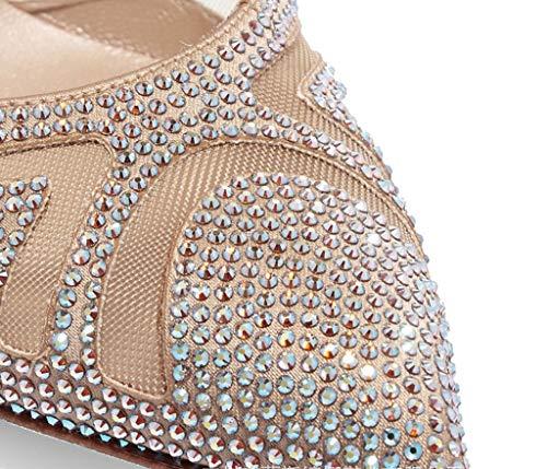 Colore a Rombi Spillo Choi Tinta 39 America e Alti Tacchi Color Europa Tacchi Shoe a Unita store Dimensioni n6wq0xtFYO