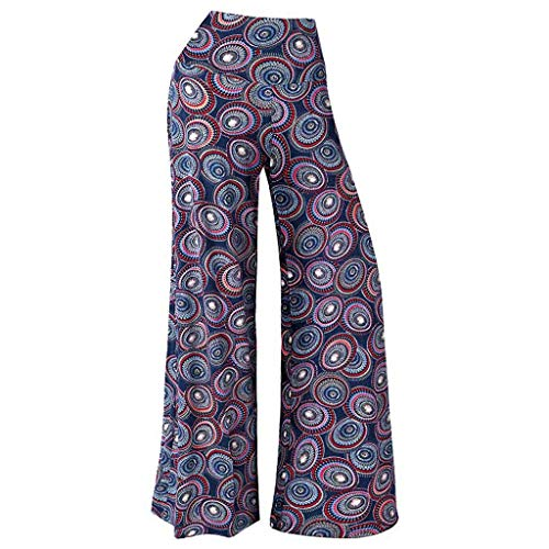 - Palazzo Pants for Women,2019 New Women's Stretchy Wide Leg Palazzo Lounge Pants Comfy Chic Solid and Printed Pants