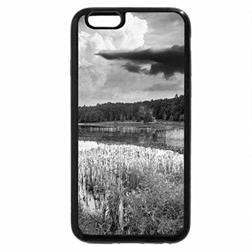 iPhone 6S Case, iPhone 6 Case (Black & White) - Landscape