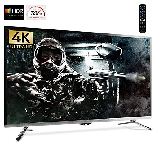 """Price comparison product image New WASABI MANGO 43"""" 120Hz Real 4K UHD IPS Gaming Monitor (Crosshairs,  Flicker-Free,  Low Blue Light,  PIP&PBP,  Quad Display,  HDCP 2.2) with DP 1.4,  HDMI 2.0, USB (UHD430 HDR Dual DP i20) + Remote"""