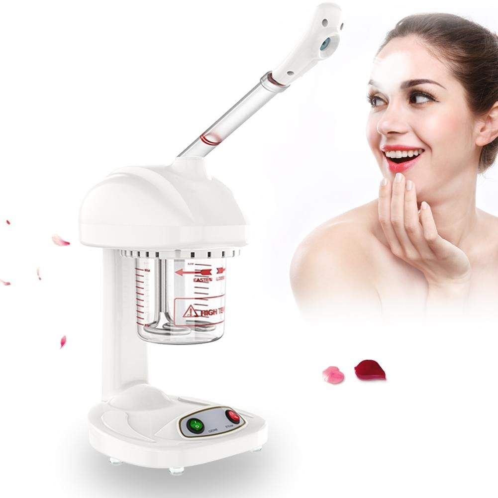 Facial Steamer, Portable Facial Steamer Advanced Ionic Spraying Machine Salon Spa Ozone Steaming Skin Care Machine for Home and Professional SPA Steamer Face Moisturizing Cleaning ZJchao