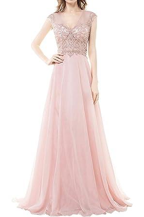 MILANO BRIDE Vogue 2017 Prom Party Dresses V-neck Spaghetti Straps A-line Beads
