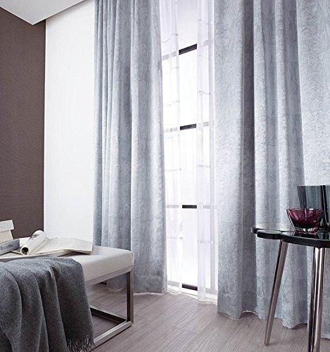 アスワン 色とデザインがマッチした新鮮なカーテン カーテン2.5倍ヒダ E6255 幅:200cm ×丈:140cm (2枚組)オーダーカーテン 140  B078C64DX2
