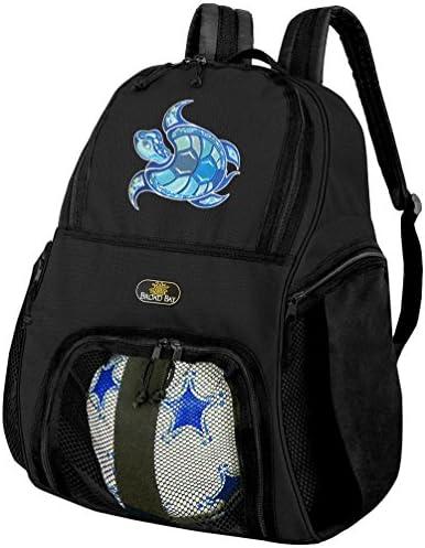 Sea TurtleサッカーバックパックまたはTurtleバレーボールバッグ