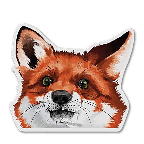 WIRESTER Fridge Magnet Decoration for Kitchen Refrigerator, Red Fox