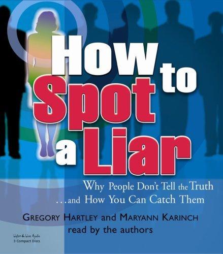 How To Spot A Liar [Abridged][Audiobook] (Audio CD)