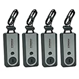 Doberman Security Portable Door Alarm with Flash Light, 4 alarms
