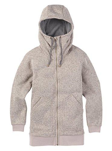 Burton Women's Minxy Fleece Sweaters, Dove Heather, X-Large -