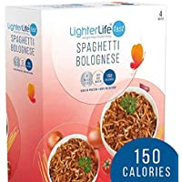 LighterLife Fast Spaghetti Bolognese Low Calorie Slimming Replacement Meal x 4
