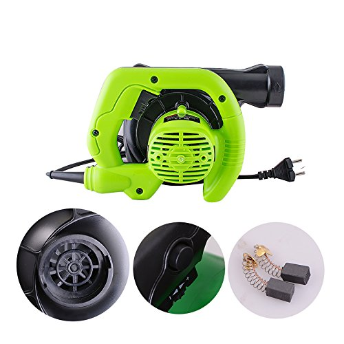 CARESHINE Leaf Blower, 600W Electric Handheld Super Leaf Blower Vacuum Shredder Super Leaf Blower