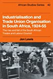 Industrialisation and Trade Union Organization in South Africa, 1924-1955: The Rise and Fall of the South African Trades and Labour Council (African Studies)