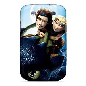 Great Hard Phone Case For Samsung Galaxy S3 With Unique Design Vivid How To Train Your Dragon Skin PhilHolmes