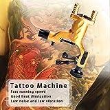 Professional Body Art Rotary Tattoo Motor Machine GunLinner Shader Equipment -Yellow