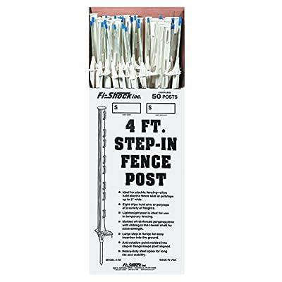 Fi-Shock Step-In Fence Post, 4 Feet