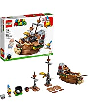LEGO Super Mario Bowser's Airship Expansion Set 71391 Building Kit; Collectible Build-Display-and-Play Toy for Kids, New 2021 (1,152 Pieces)