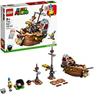 LEGO Super Mario Bowser's Airship Expansion Set 71391 Building Kit; Collectible Build-Display-and-Play Toy for