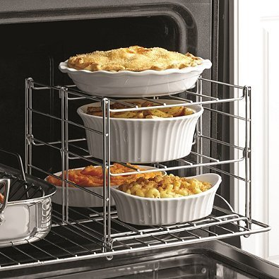 Real Simple 3-Tier Adjustable Oven Rack (1)