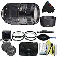 Tamron AF 70-300mm f/4.0-5.6 Di LD Macro Zoom Lens with Built In Motor for Canon Digital SLR Cameras + Pixi-Advanced Bundle
