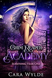 Surviving Year One: A Reverse Harem Bully Romance (Grim Reaper Academy Book 1)
