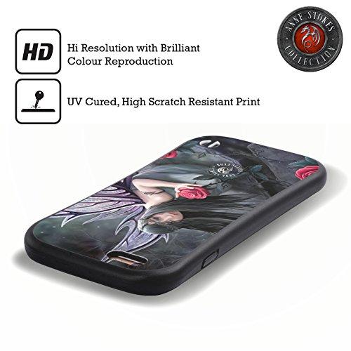 Officiel Anne Stokes Fée de Rose Coeurs Sombres Étui Coque Hybride pour Apple iPhone 6 / 6s
