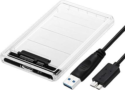 JMT 2.5 Pulgadas USB 3.0 y 3.1 Tipo-C SATA HD Box SSD HDD Unidad de