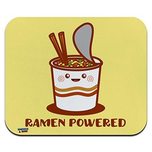 Price comparison product image Ramen Powered Noodle Soup Chopsticks Low Profile Thin Mouse Pad Mousepad