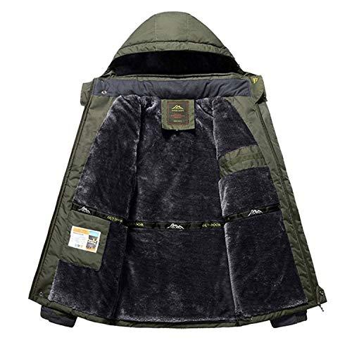 Thick Velvet Down & Parka Coat 6XL 7XL 8XL 9XL Winter Jacket Men Waterproof Windproof Chaquetas at Amazon Mens Clothing store: