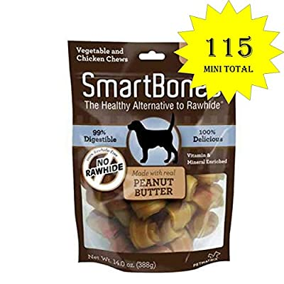 SmartBones Mini Peanut Butter Chews