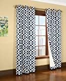 Trellis Thermalogic Navy 80″ X 84″ Grommet Top Curtains Review
