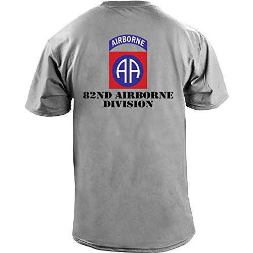Army Airborne Color Veteran T Shirt