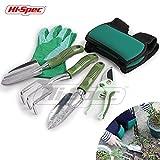 Hi-Spec Garden Knee Pads & Garden Tools Set of Yard & Gardening Tools with Garden Hand Tools