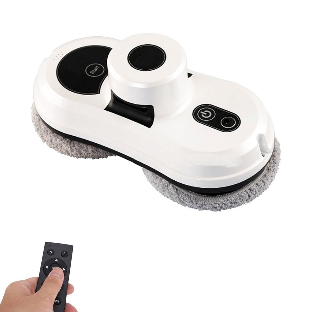 Smart Window Glass Cleaning Magnetic Cleaning Robot 2.4G /APP Remote Control Automatic Vacuum Cleaner, USA plug