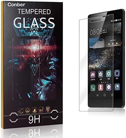Conber [1 Stück] Displayschutzfolie kompatibel mit Huawei P8, Panzerglas Schutzfolie für Huawei P8 [9H Härte][Hüllenfreundlich]