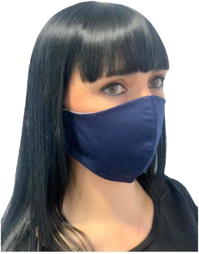 Pack 3 mascarillas higiénicas multifunción, reutilizable, protección contra el polvo, tallaje adulto, Unisex,Microfibra Algodón.