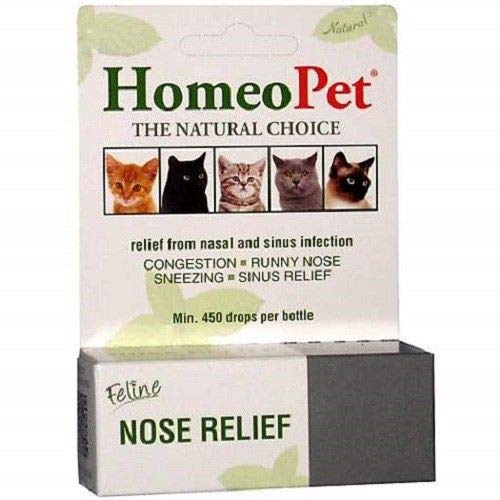 HomeoPet Pet Feline Nose Natural Relief Nasal & Sinus Infection by HomeoPet